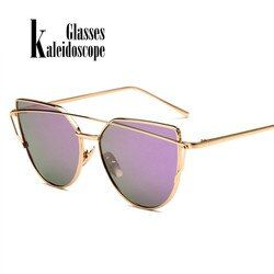 Women Sunglasses Retro Metal Frame Glasses Brand Designer Sunglass Vintage Ladies Sun Glasses Women's Glasses