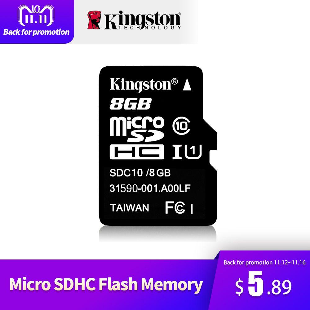 Kingston Classe 10 Micro SD Carte 32 gb 64 gb 8 gb 16 gb Mini SD Carte Mémoire SDHC SDXC micro SD TF Carte Pour Appareil Photo Android SmartPhone