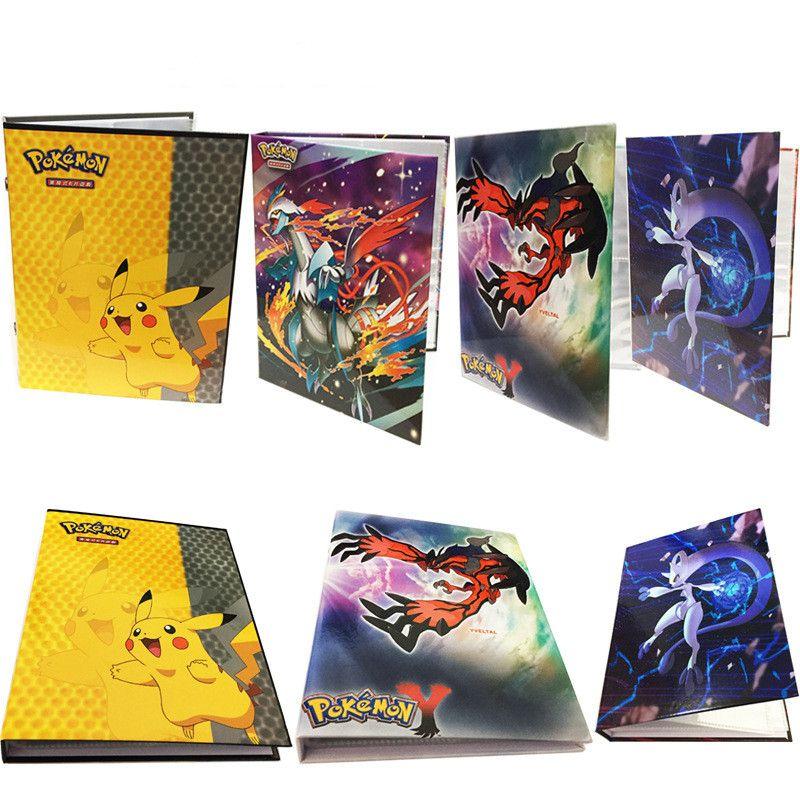 2017 Pikachu Collection cartes Pokemon Album livre Top chargé liste jouer cartes pokemon titulaire album jouets pour nouveauté cadeau