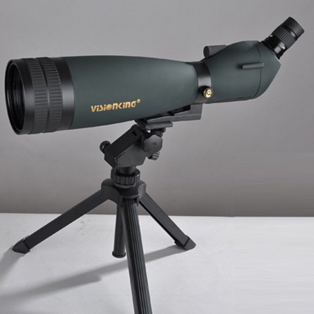 Visionking 30-90x90 Водонепроницаемый Зрительная труба Увеличить Зрительная труба полный многослойным участники Монокуляр телескоп со штативом