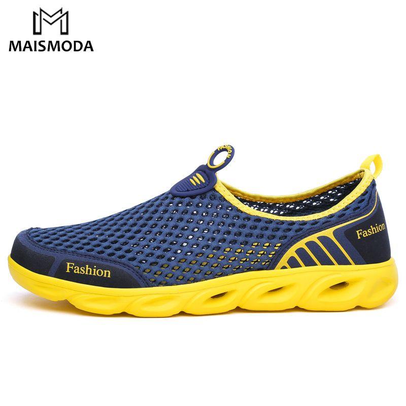 MAISMODA hommes et femmes Aqua chaussures en plein air plage eau chaussures en amont ruisseau plongée en apnée bottes néoprène antidérapant léger YL235