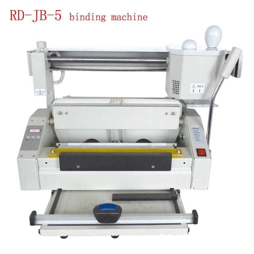 RD-JB-5 Desktop Hot melt klebebindung maschine booklet maker kleber buch bindung maschine kleber buch bindemittel maschine