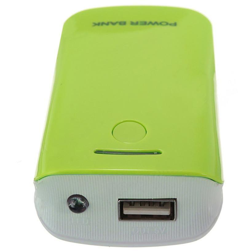 DIY 2*18650 Batterieleistungbank Ladegerät Box Für iPhone Smartphone für iPhone6 plus/6/5 S für Samsung Galaxy S2/S3/S4 Hinweis 2/3/4