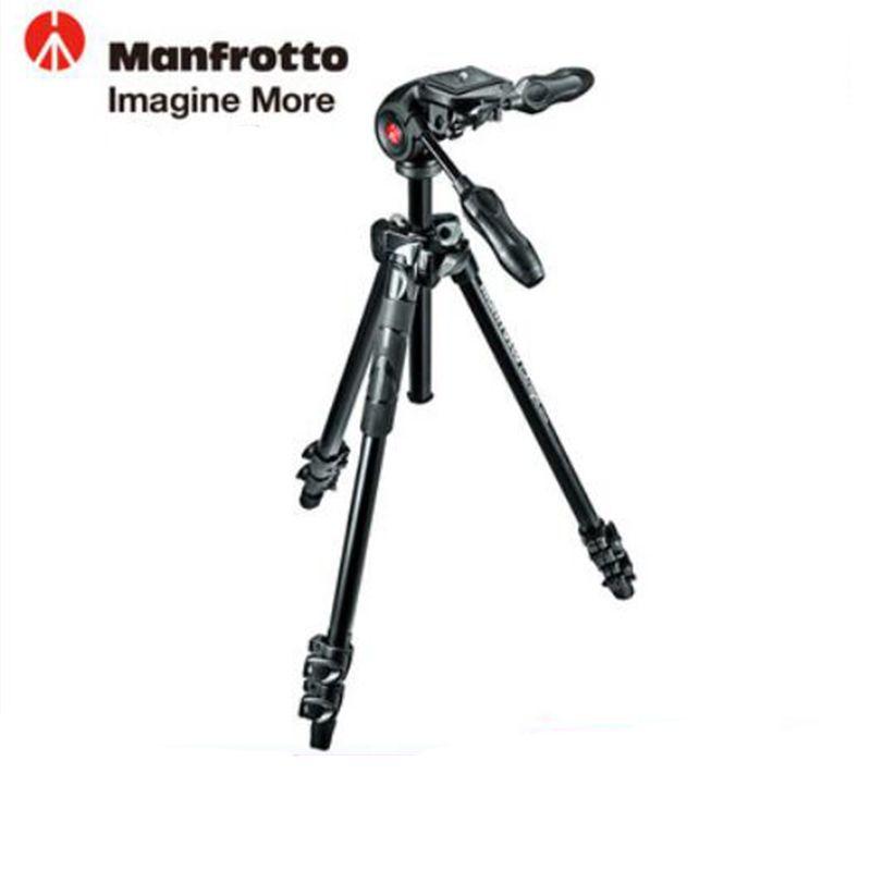 Manfrotto MK290LTA3-3W Aluminum Tripod Kit Professional Tripod With Foldable Ball Head Axis Reversing For Brand Digital Camera