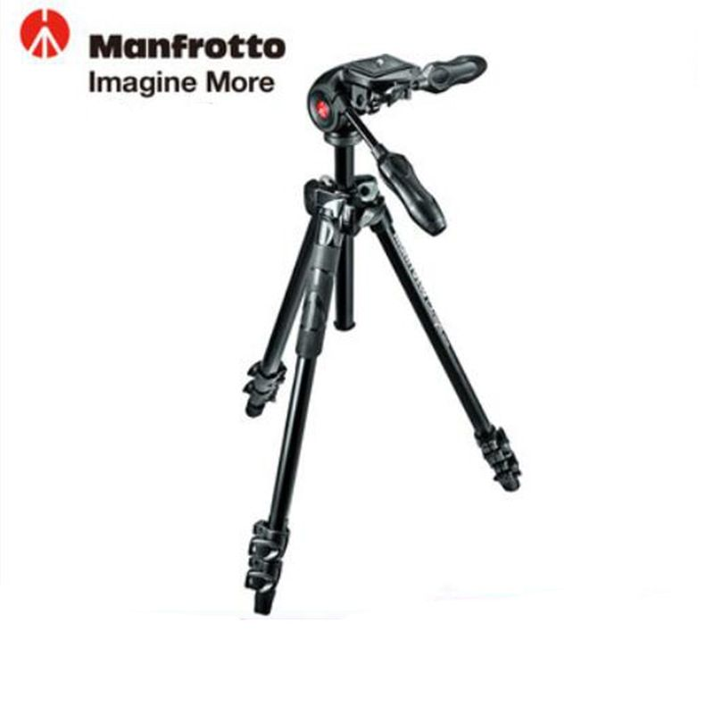 Manfrotto MK290LTA3-3W Aluminum Tripod Kit Professional Tripod With Foldable Ball Head Axis Reversing For Brand Digital Camera
