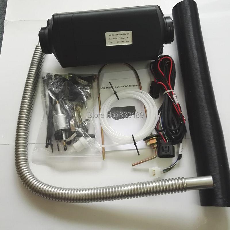 5KW 12V 24V parking heater for Motor Home\ Boat, Van\ Caravan, truck \ bus - similar Webasto & Eberspaecher AIRTRONIC D4.