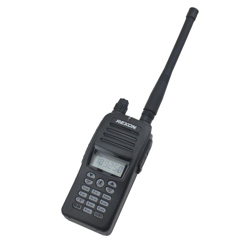 TX 118,000-136,975 MHz, RX 108,000-136,975 MHz VHF AIR BAND Portable Two-way Radio Air band walkie talkie Radio RHP-530E