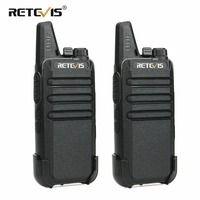 2 шт. Retevis RT22 двухканальные рации мини-приемопередатчик UHF Вт voctcss/DCS зарядка через usb Handy двухстороннее радио Communicator Woki Toki