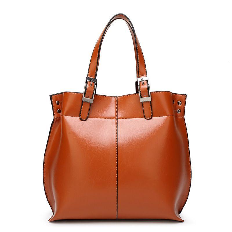 Frauentasche mode lässig hohe qualität damen handtasche damen tasche schulter ledertasche 2018 kostenloser versand