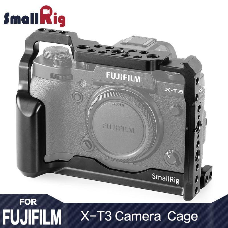 SmallRig DSLR Camera Cage for Fujifilm X-T3 X T3 Camera with Nato Rail Handle Grip Free Shipping 2228