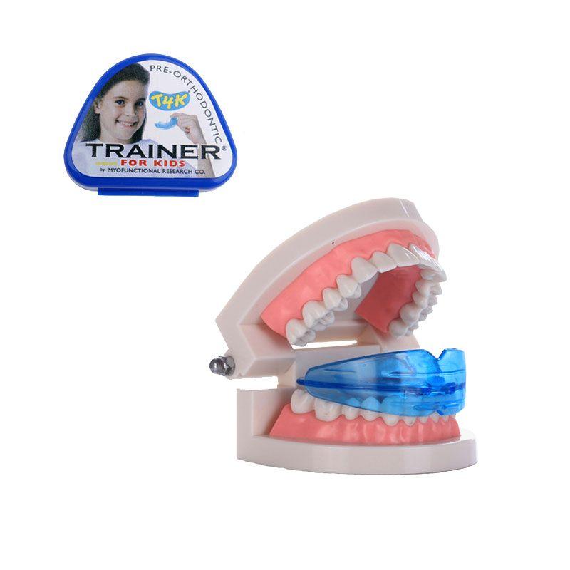 1 Pcs T4K Dents Orthodontiques Formateur T4K D'origine Dentaire Formateur pour Enfants Dents Droite/Alignement Dents Réparation Dentaire Santé
