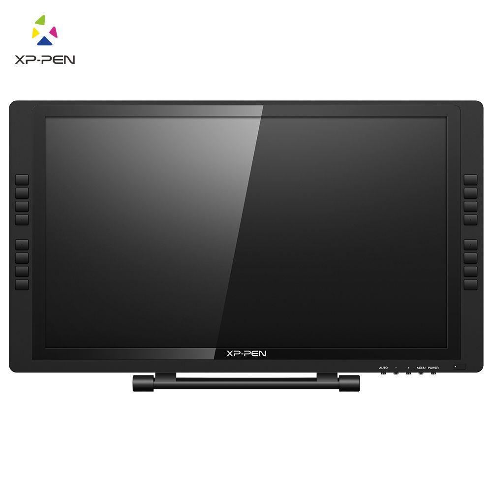 XP-Stift 22E Pro 1080P HD IPS Zeichnung tablet Grafik Tablet Display Monitor Grafiken mit 16 Express Tasten unterstützt 4K Displays