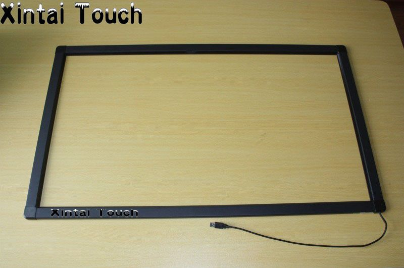 Xintai Touch 85 inch Infrared IR touch screen IR touch frame overlay 10 touch points Plug and Play works
