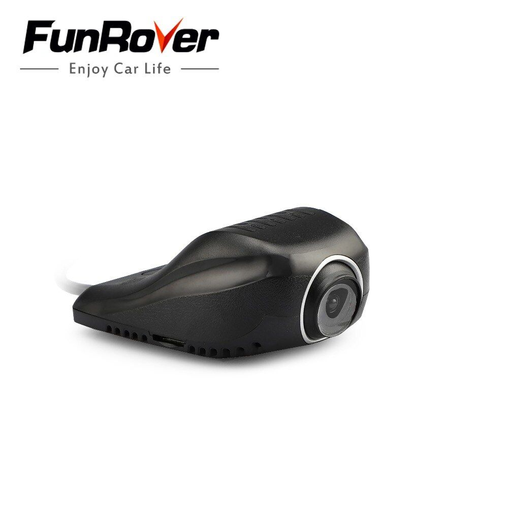 2018 <font><b>Dash</b></font> Camera Funrover Dashcam Front Camera Usb Dvr Android Dvd Player Usb2.0 Digital Video Recorder For Android 5.1 6.0 8.0
