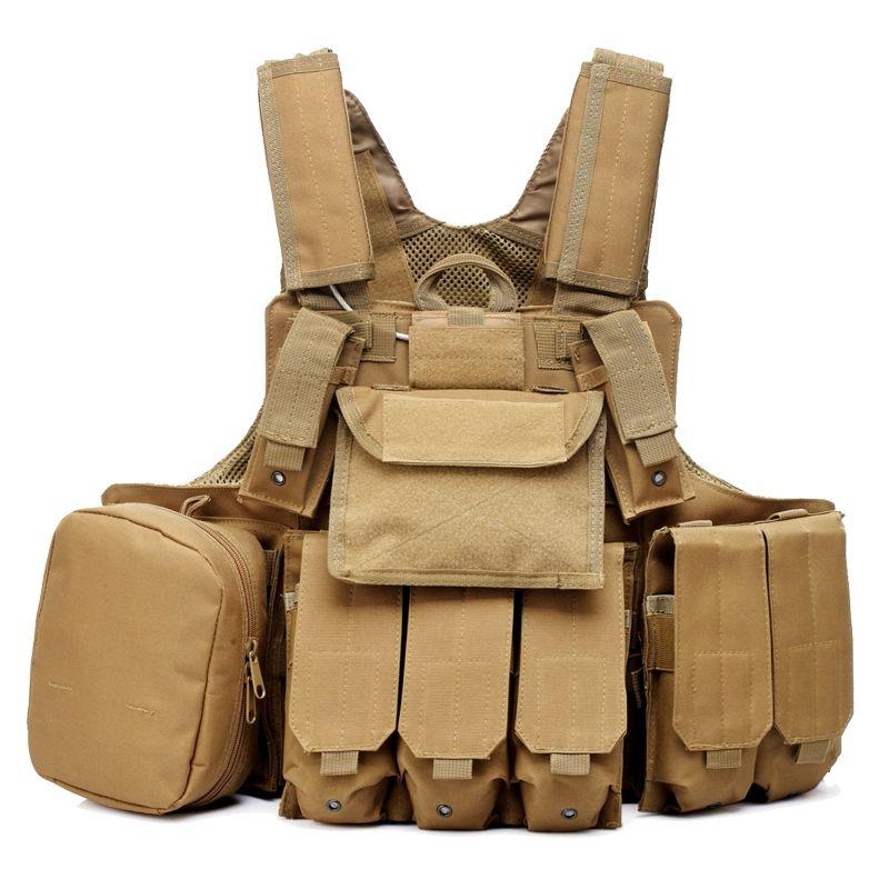 Taktische Weste Molle CIRAS Airsoft Kampf Weste Lösbare Armor Plate Carrier Strike Westen W/Magazintasche Jagd Kleidung Getriebe
