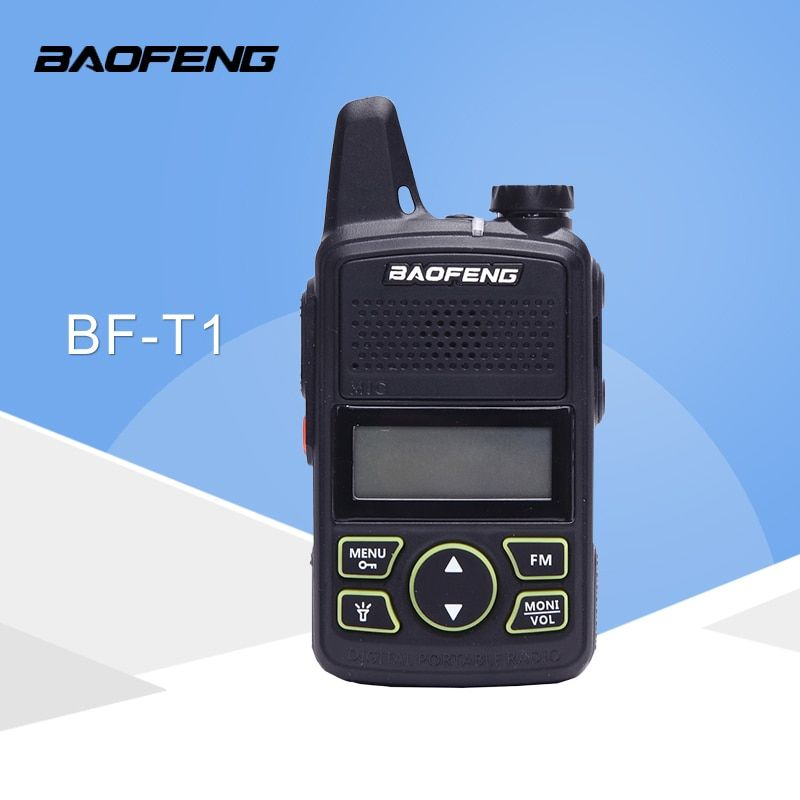 BaoFeng BF-T1 Frequency 400-470MHz 20 Channels Mini Ultra-Thin Micro Driving BaoFeng Hotel Civilian Walkie Talkie