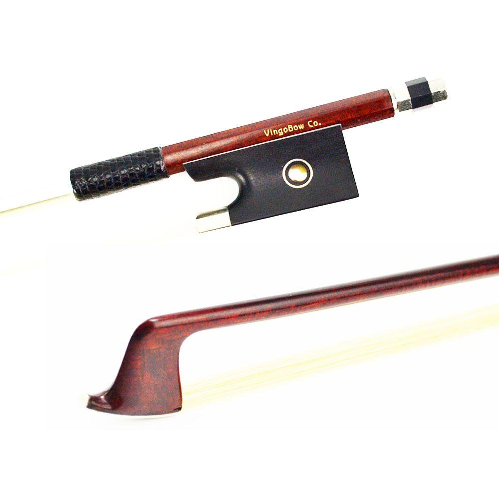 4/4 Size 120V VIOLIN BOW Carbon Fiber core Pernambuco Skin Stick High Quality Ebony Frog and Hair Straight Violin Accessories