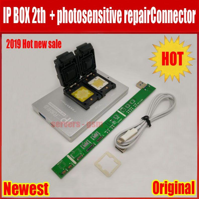 NEUE IPBox V2 IP BOX 2th NAND PCIE 2in1 Hohe Geschwindigkeit Programmierer + lichtempfindliche repairConnector + für iP7 Plus/ 7/6 S/6 plus/5 S/5C/5