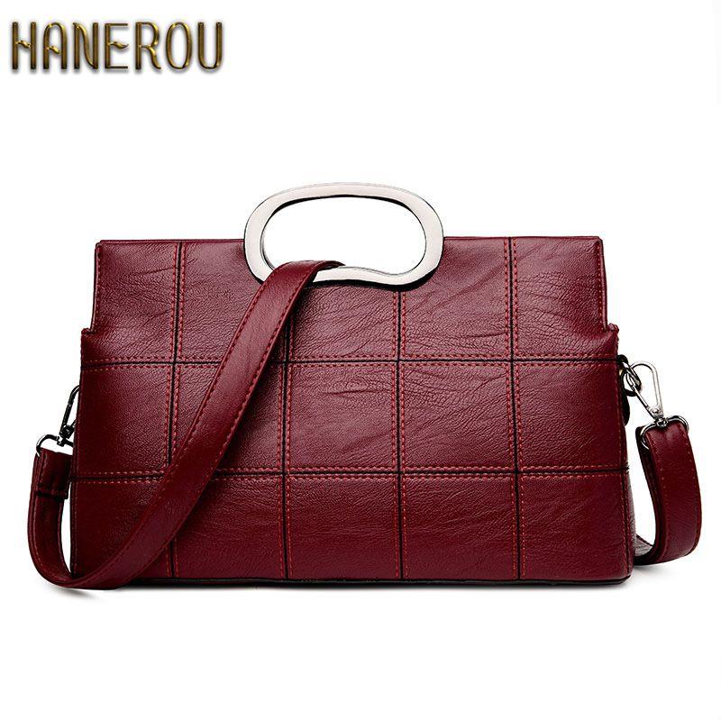 2018 Fashion Women Bag Luxury Brand PU Leather Women Messenger Bags Shell Bag Ladies Handbags New Woman Leather Handbags Sacs
