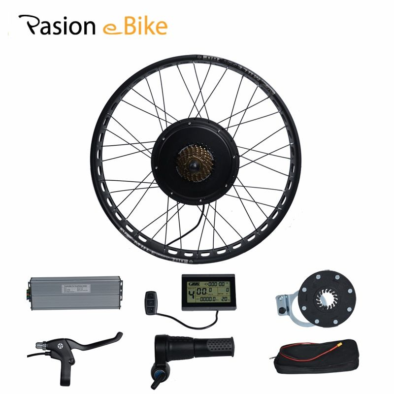 PASION E FAHRRAD 48 V 1500 Watt Elektrische Fahrrad Fett Bikes Umbausatz 20 ''26