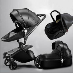 Aulon. Reviews of the stroller transformer 3 in 1 Aulon, stroller 3 in 1, aulon eco-leather, baby seat, with free delivery.