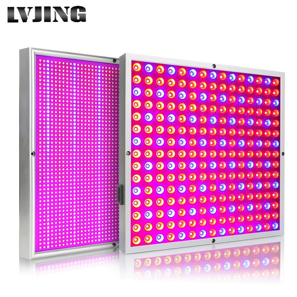 LED à spectre complet de tasse de réflecteur de LVJING 45W 200W élèvent des lumières pour faire pousser la lampe d'intérieur de graine de plante hydraulique de serre chaude