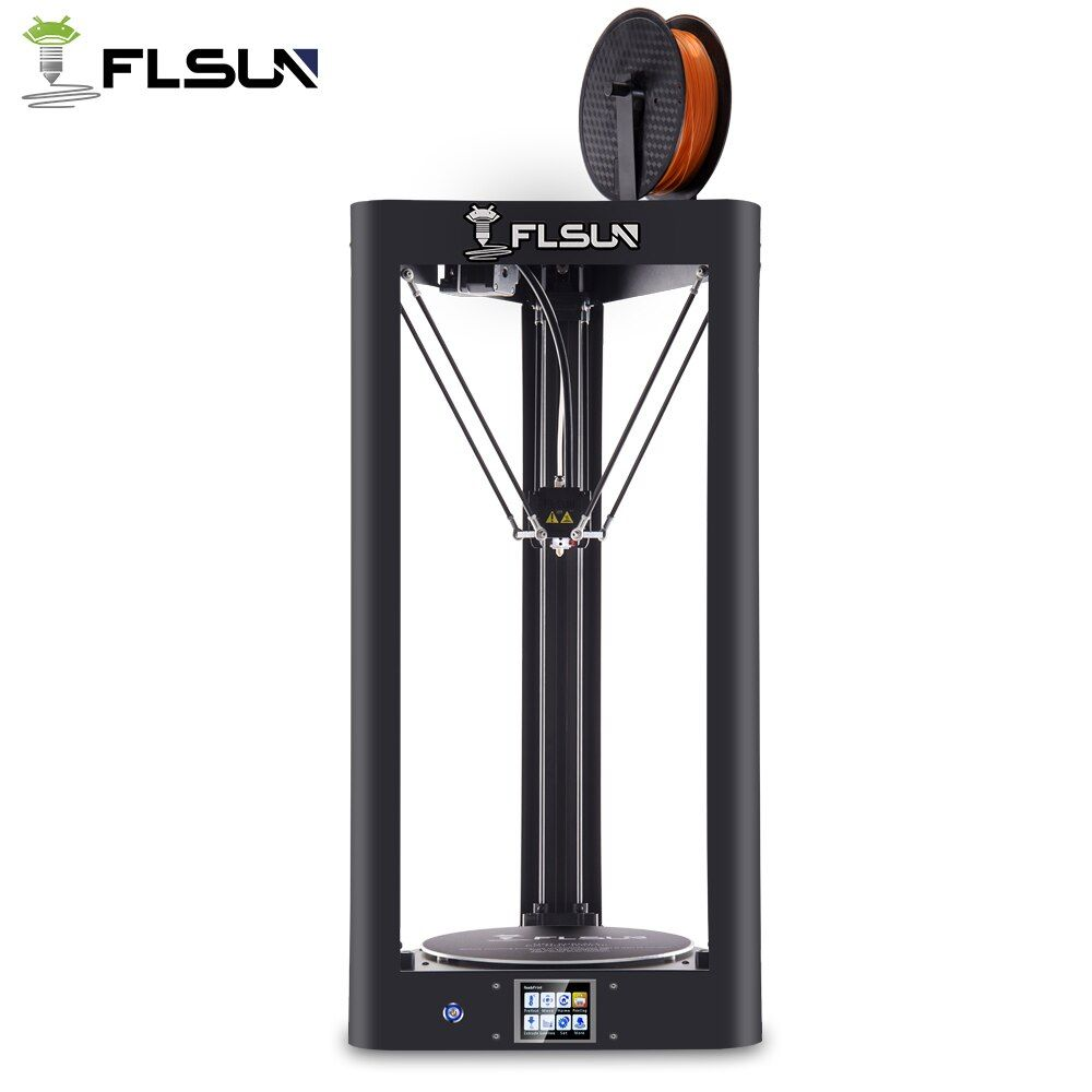 High Speed Flsun 3D Printer Auto-Level Large Size Pre-assembly Flsun-QQ 3D Printer Heated Bed Touch Screen Wifi Module Support