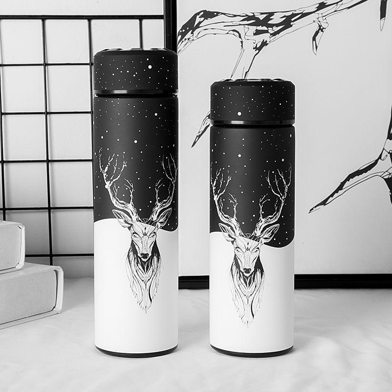 Nouveau Style thermos d'aspirateur Bouteille, bouteille d'eau, acier inoxydable thermos bouteille isotherme Contenant, En Plein Air tasse de voyage, SANS BPA