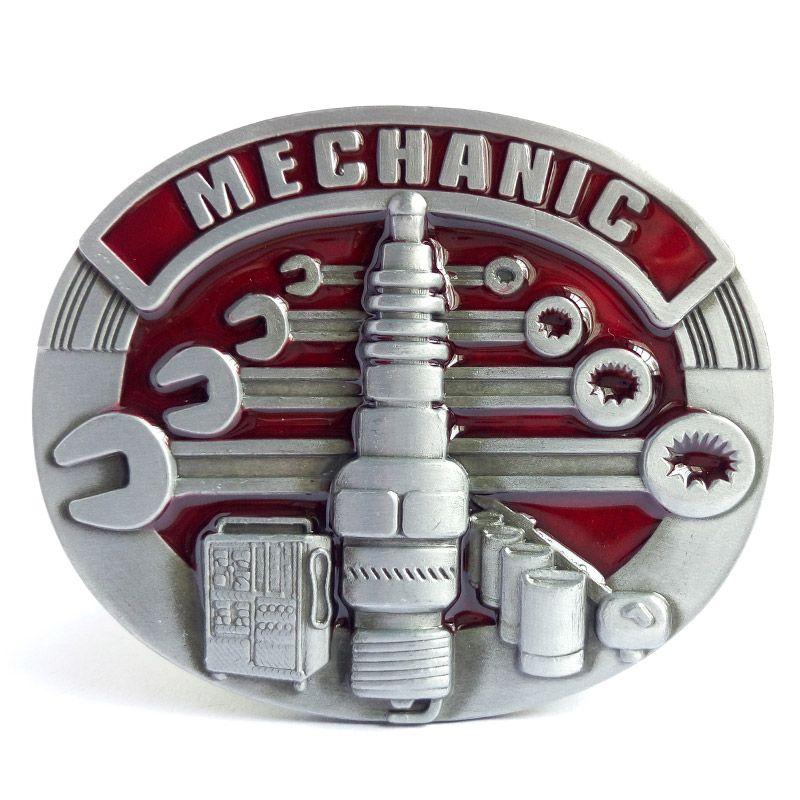 T-DISOM offre spéciale mécanicien ceinture boucle pour hommes métal ceinture boucle adapté pour 4 cm largeur ceinture livraison directe