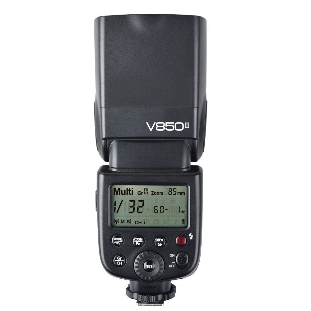 Godox V850II GN60 2.4G Wirless X System Speedlite w/ Li-ion Battery Flash Light for Canon Nikon Pentax Olympus DSLR Cameras