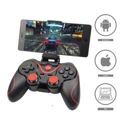 Оптовая продажа Terios T3 X3 Беспроводной джойстик геймпад игровой контроллер bluetooth BT3.0 джойстик для мобильного телефона для планшета телевизор...