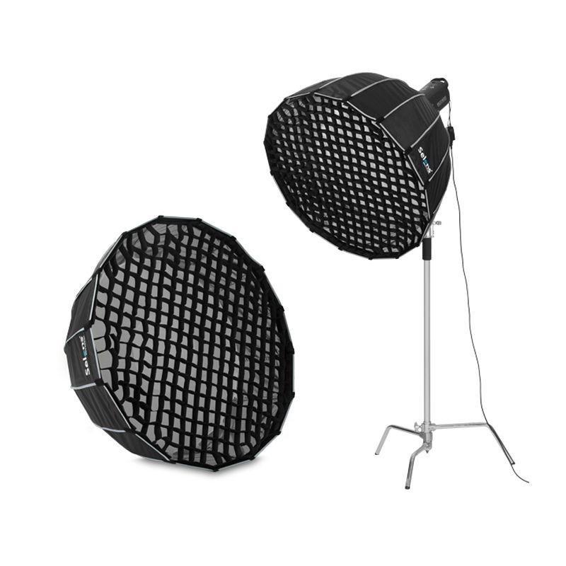 Selens 90cm 120cm 150cm 190cm photographie nid d'abeille grille pour Flash Softbox diffuseur Nikon Canon SpeedLight Fotografia boîte à lumière