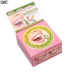 Травы Отбеливание зубов натуральный травяной Гигиена полости рта Зубные пасты тайский Зубные пасты сильная формула Зубная паста отбеливат...