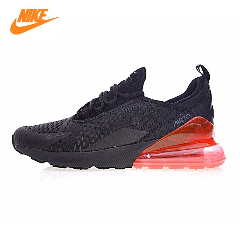 Nike Air Max 270 Men's Running Shoes, Outdoor Sneakers Shoes Green Red, Breathable Non-slip Wear Resistant AH8050-006 AH8050-008