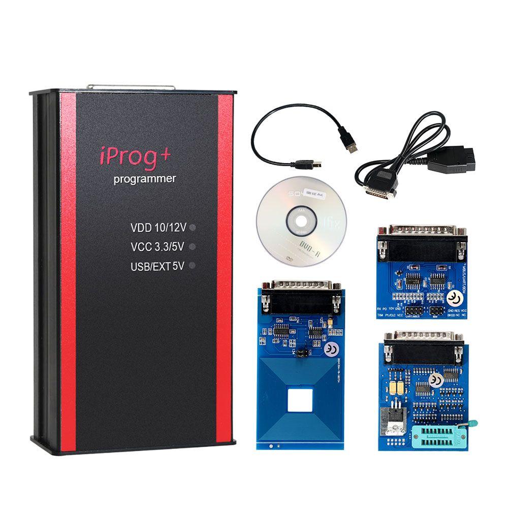 Neueste Iprog + Programmierer Unterstützung IMMO + Laufleistung Korrektur + Airbag Reset Iprog Pro Bis 2019 Ersetzen Carprog/Digiprog /Tango