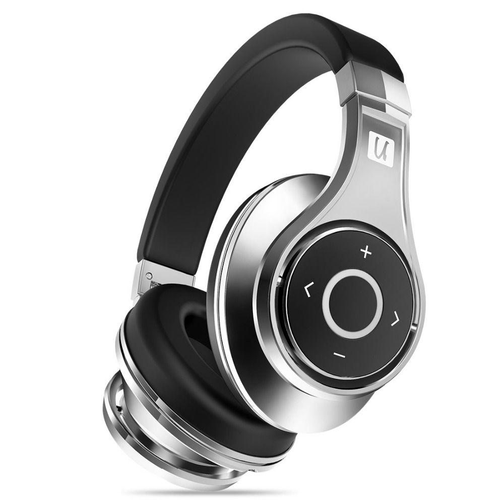 Bluedio U(UFO)Bluetooth headphone High-End Genuine Patented 8 Drivers 3D Sound Aluminum alloy Over-Ear wireless <font><b>headset</b></font>