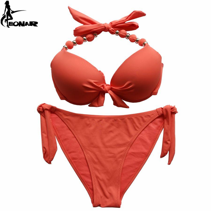 EONAR Bikini 2019 offre combinaison taille maillot de bain Push Up brésilien Bikini ensemble maillots de bain grande taille maillots de bain femme XXL