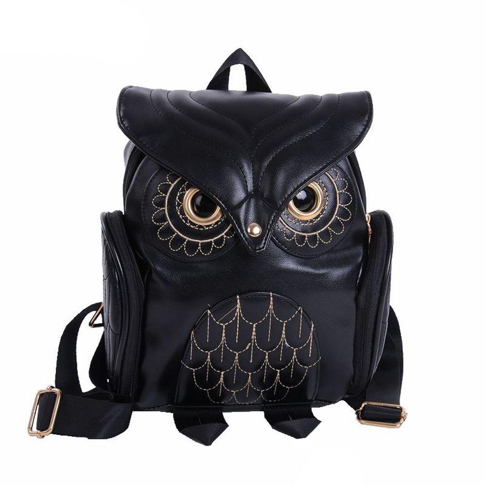 Cute Owl Fashion Backpacks Cartoon Women Backpack Softback School Bags Teenage Backpacks for Girls#Z