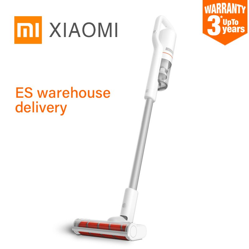 Xiaomi Roidmi F8 Handheld Wireless Vacuum Cleaner Low Noise Smart Dust Collector WIFI APP Control LED Multifunctional Brush