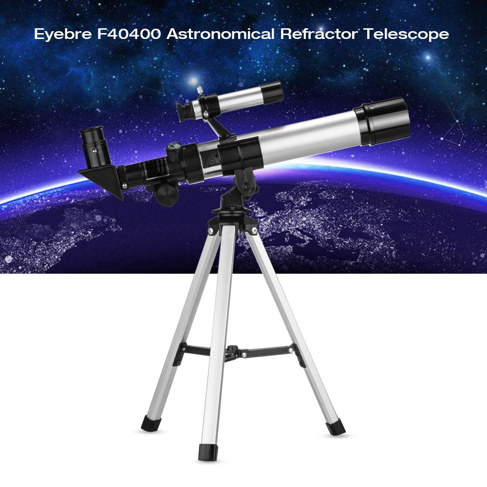 Eyebre F40400 90X Monocular Professional Space Astronomic Telescope with Tripod Portable Astronomical Refractor Telescope