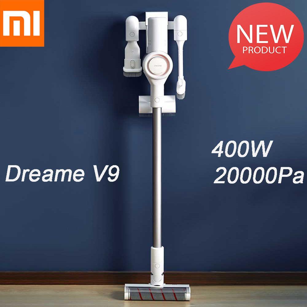 2019 Xiaomi Dreame V9 aspirateur à main sans fil bâton aspirateur aspirateurs 20000 Pa pour voiture de maison de Xiaomi Youpin
