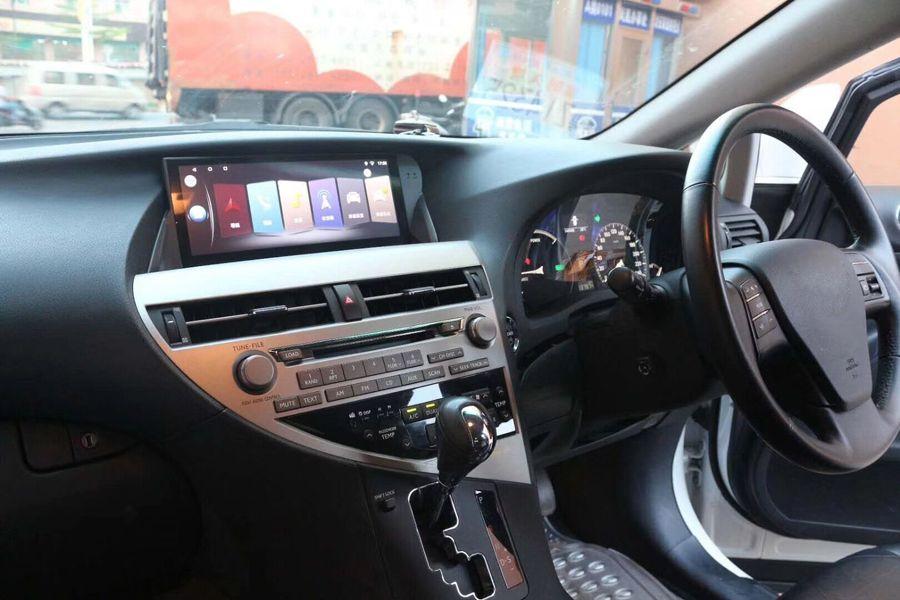 Für LEXUS RX270 RX350 2009 ~ 2015 Rechts Rad 10,25 zoll full touch bildschirm recorder kopf einheiten auto multimedia-player gps navigation