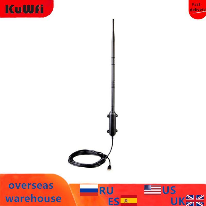 Antenne WiFi extérieure haute puissance 150 Mbps adaptateur Wifi sans fil USB amplificateur de Distance 1 KM carte réseau sans fil omnidirectionnelle