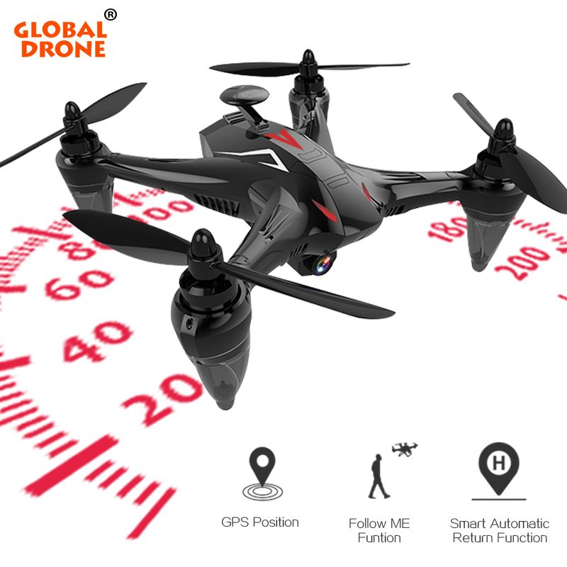 Global Drone Ray Professional GPS Drone with 5G WiFi FPV Camera Follow Me Quadrocopter Brushless RC Dron VS X198 X183