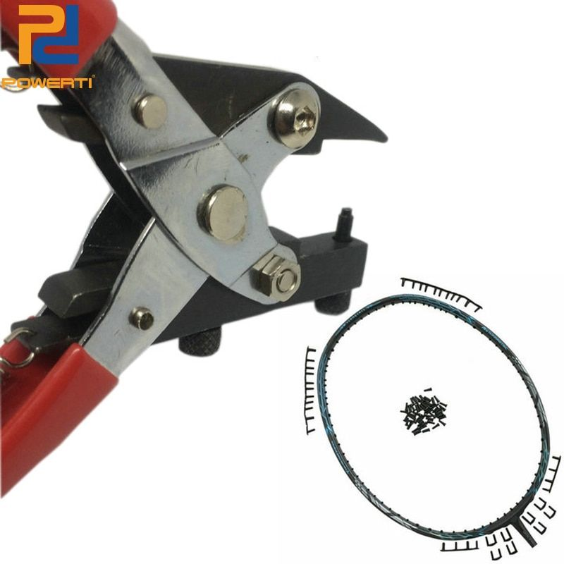 POWERTI Protecting Pipe Tools Stringing Machine Clamp Sport Badminton Stringing Parts Get out the Grommets PP-700