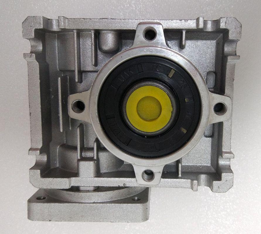 NMRV040 86mm schneckengetriebe reducer setzung 5:1 zu 100:1 eingang 14mm welle für NEMA34 schrittmotor