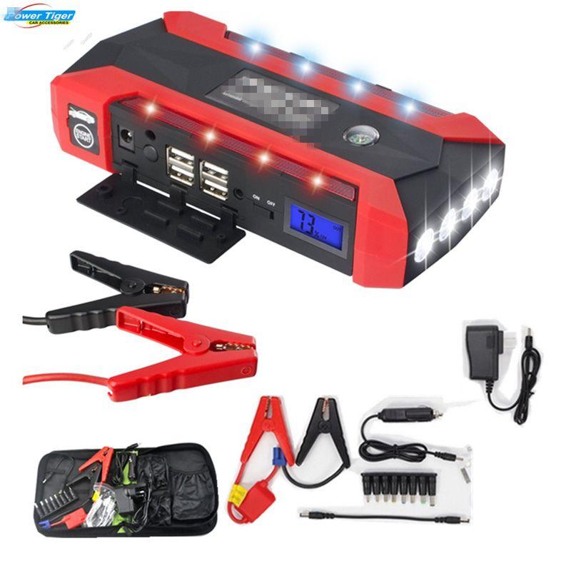 Super Power Car Jump Starter Power Bank 600A Portable Car Battery Booster Charger 12V <font><b>Starting</b></font> Device Petrol Diesel Car Starter