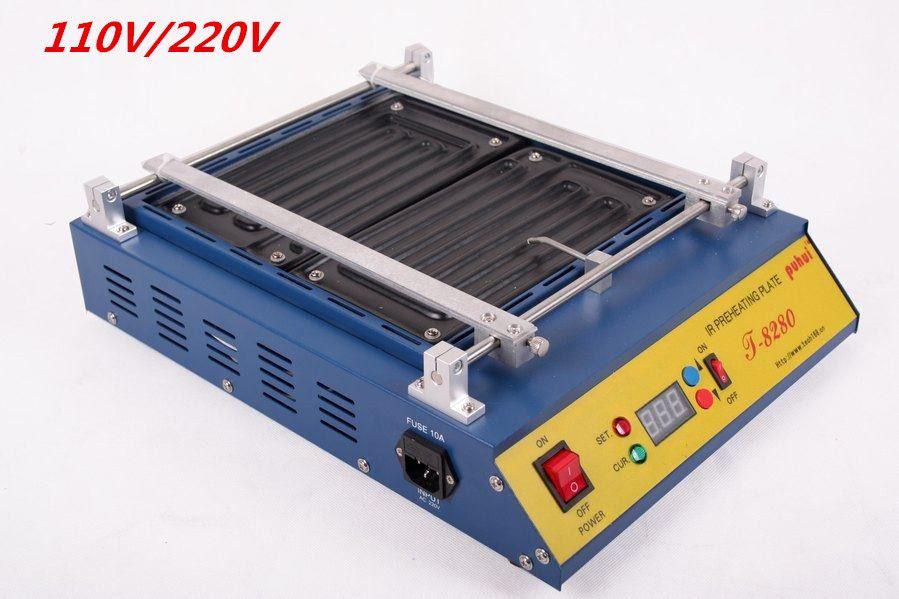 1PCS IR Solder Station 110V /220V Puhui T8280 T-8280 T 8280 PCB Preheater SMD Rework Station