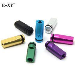 E-XY Flat Metal Drip Tip 510 Mouthpiece For Electronic Cigarette 510 interface Atomizer vape Tank