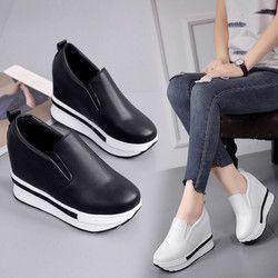 Sepatu Wanita Musim Dingin Baru Fashion Sepatu Datar Solid Liar Round Toe Wanita Kasual Sepatu Round Toe Zapatos Mujer 2018